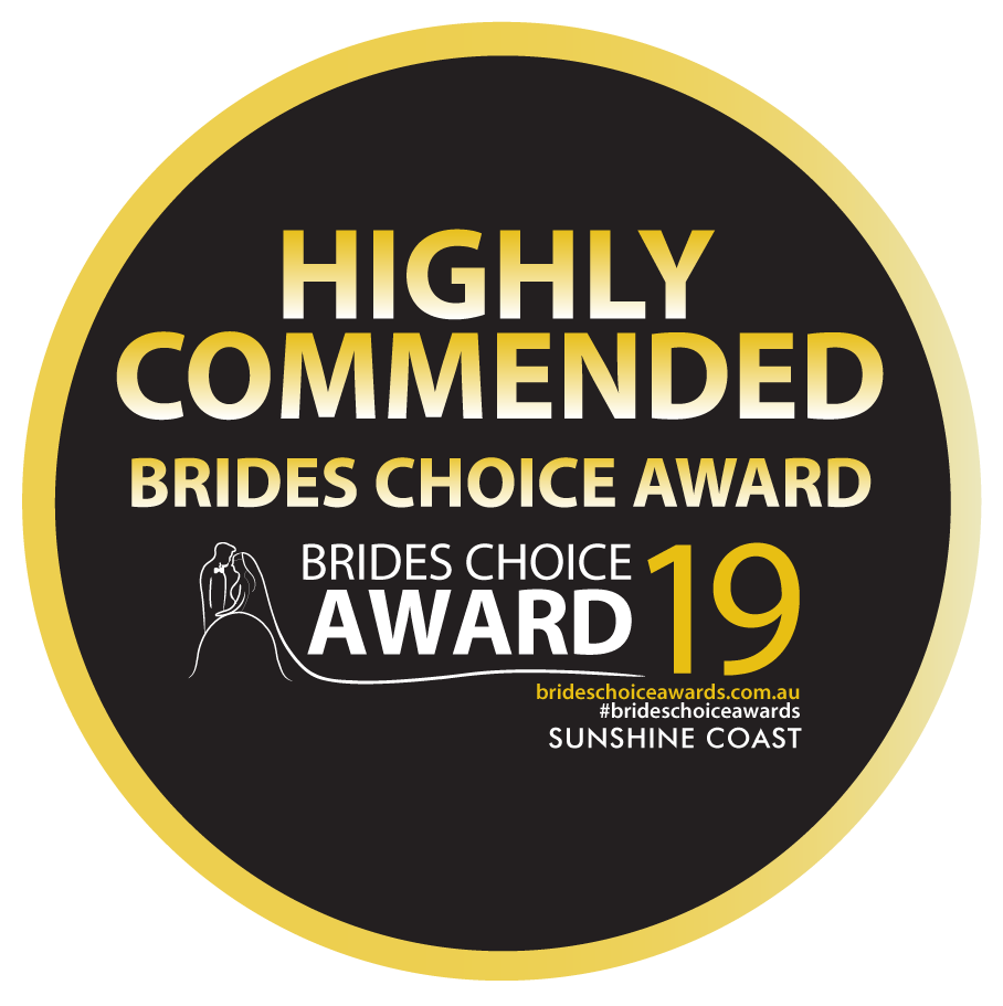 highly commended brides choice awards 2019 badge
