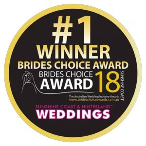 #1 winner brides choice awards 2018 badge