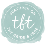 featured on the brides tree badge